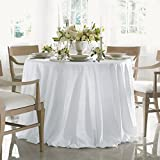Acanthus by Sferra - Oblong Tablecloth 70x162 (White)