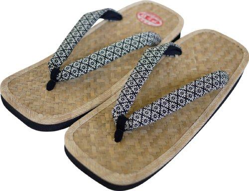 Sandali Giapponesi Ajiro Per Uomo Made In Japan Setta Zori * Misura Della Scarpa Del Giappone * 2