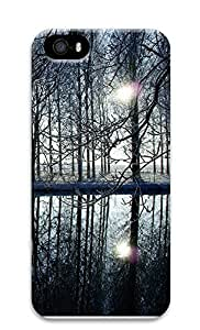 iPhone 5 5S Case Tree reflection 3D Custom iPhone 5 5S Case Cover