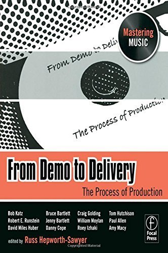 From Demo to Delivery The Mastering Music Series 2008-10-03: Amazon.es: Libros