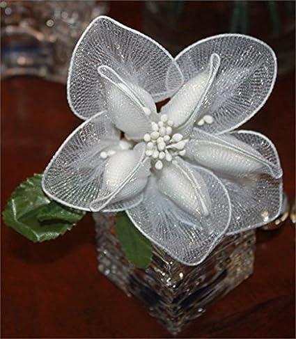 Amazon.com: Jordan Almonds Flower Bouquet Wedding Favors in Calla ...