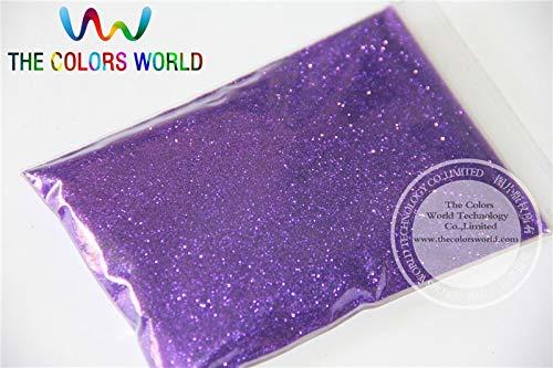 Kamas Purple Color Glitter powder -0.2MM glitter dust dazzling glitter powder,DIY Flash powder - (Color: 500g)