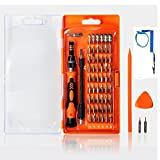 Precision Screwdriver Set 64 in 1 Magnetic Screwdriver Set Repair Tools Kit 54 Bits Driver Kit for iPhone iPad Laptop Smartphones MacBook PC Watches and More Electronics Devices