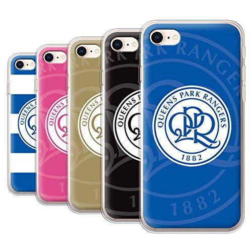 Officiel Queens Park Rangers FC Coque / Etui Gel TPU pour Apple iPhone 8 / Pack 11pcs Design / QPR Crête Club Football Collection
