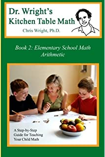 Amazon dr wrights kitchen table math book 1 9780982921128 dr wrights kitchen table math book 2 workwithnaturefo