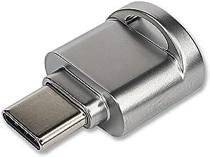 KSTORE365 Lector De Tarjetas USB Tipo C A Micro SD, USB Type C Thunderbolt 3 A MicroSD para PC, Mac, MacBook, iPad, Surface, Samsung, Huawei, Xiaomi, One Plus, Google Pixel Y Otros Android