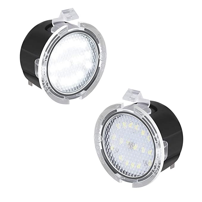 Amazon.com: MOFORKIT Linterna Espejo Lateral Puddle LED ...