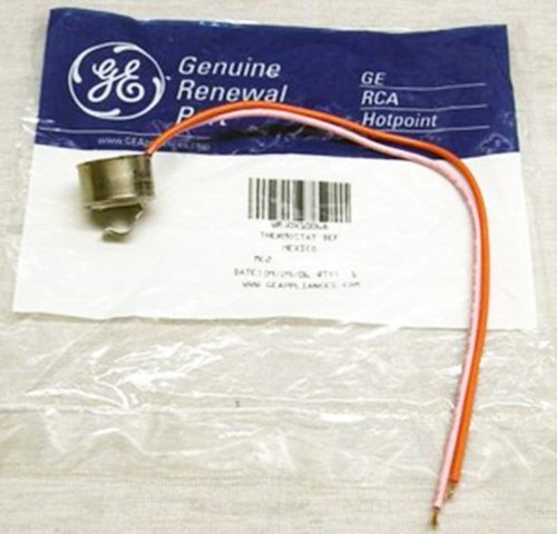 (PART # WR50X10068 OR AP3884317 GENUINE FACTORY OEM ORIGINAL REFRIGERATOR DEFROST LIMITER THERMOSTAT FOR GE AND HOTPOINT)