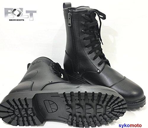 Combat Bolt R50 Impermeable Moto Ejército Militar Estilo Suela DE Goma Botas (EU 47)