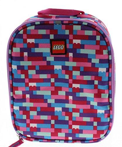 LEGO Brick Lunch Bag Pink