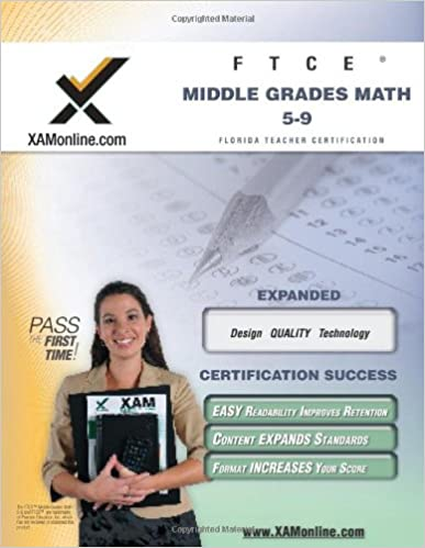 Amazon.com: FTCE Middle Grades Math 5-9 Teacher Certification Test ...