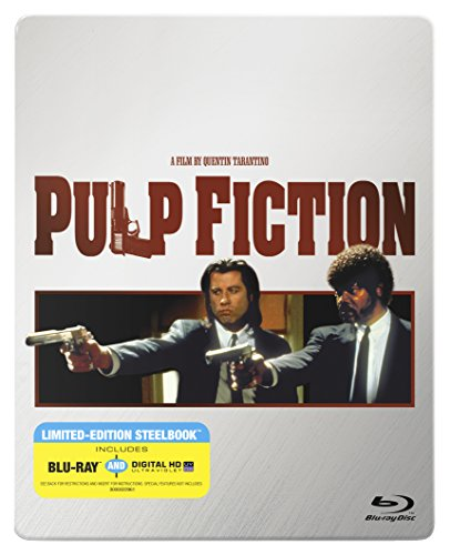 Check expert advices for pulp fiction blu ray steelbook?