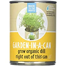 Back to the Roots Garden-In-A-Can, Organic Dill