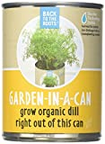 Back to the Roots, Garden in A Jar Dill Organic, 1 Count