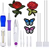 Magic Embroidery Pen Punch Needles WXJ13 Brand Stitching Punch Needles, Embroidery Patterns Punch Needle Kit for Threaders DIY Sewing