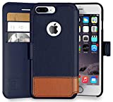 iPhone 8 Plus Wallet Case, Durable and Slim, Lightweight with Classic Design & Ultra-Strong Magnetic Closure, Faux Leather, Desert Sky, Apple 8 Plus