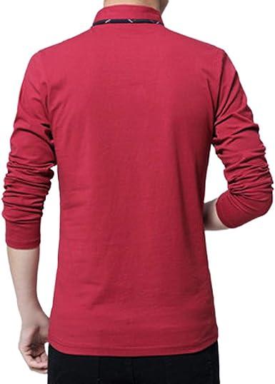 Mens Long Sleeve Shirt OSTELY Henley Shirt Leisure Beach Yoga Loose Fit Tops Blouse