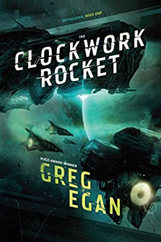 book cover of The Clockwork Rocket
