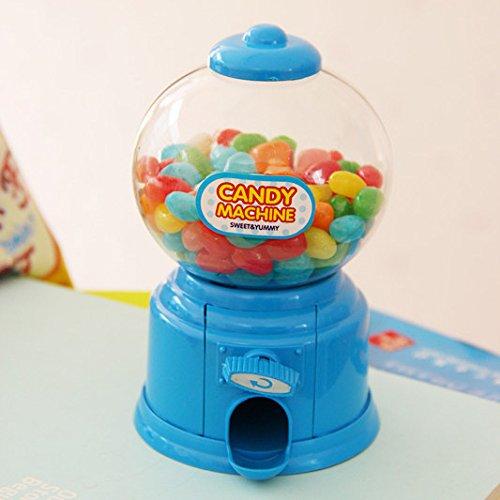 XIAOYANJIA Máquina de dulces de juguete mini niños arco iris ...