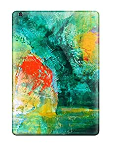 Ipad High Quality Tpu Case/ Abstract Painting Case Cover For Ipad Air