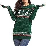 Christmas Women Zipper Dots Print Tops Hooded