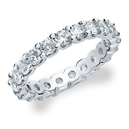 Used, 2CT Classic Eternity Ring, Lab Grown Diamond Eternity for sale  Delivered anywhere in USA