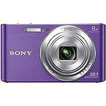 Sony CyberShot DSC W830 20.1 MP Point and Shoot Camera  Viol...