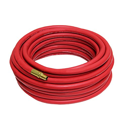 Good Year 12674 Rubber Air Hose Red, 50-Feet x 3/8-Inch (Goodyear Air Compressor Hose compare prices)