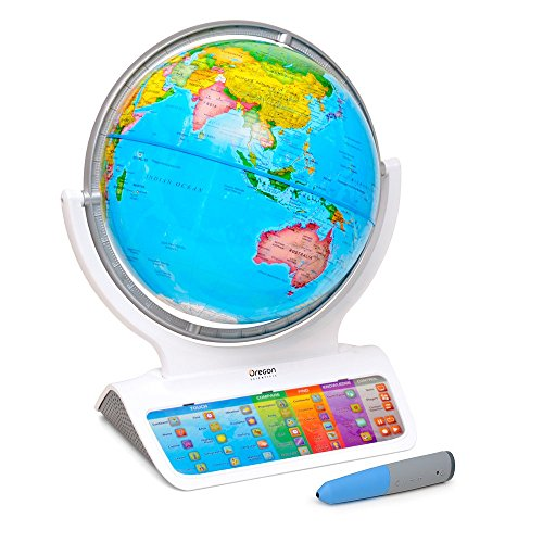 Smart Globe Infinity SG318 - Interactive Smart Globe with Wireless Smart Pen by Oregon Scientific