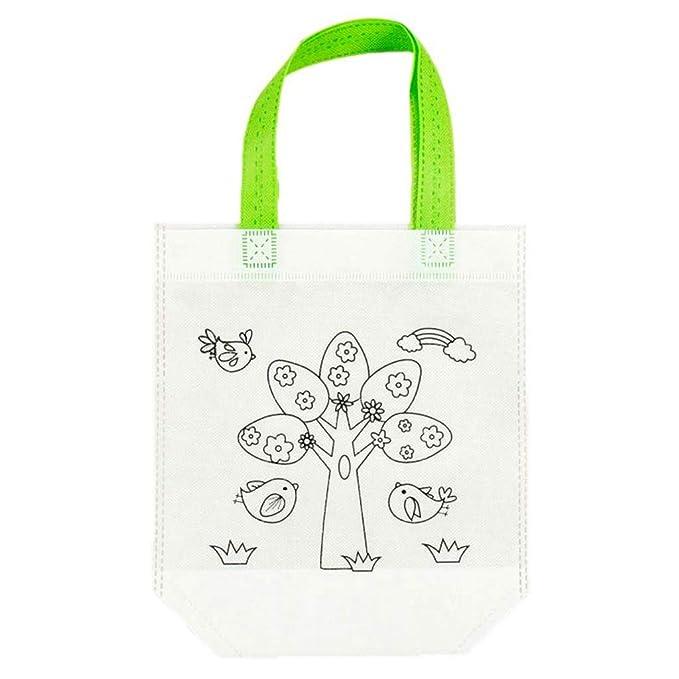 Amazon.com: KUKALE Tote Bags DIY Environmental Graffiti Bag ...