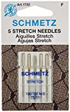 #1: Schmetz 1722 Stretch Needles, 130/705 H-S 75/11, 5 per pack (2 Pack)
