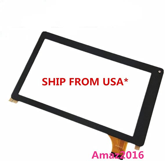 Brand New 10.1/'/' Touch Screen Digitizer Replaced Panel For iRulu eXPro X11