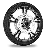 Xtreme Machine Fierce Xquisite Front Wheel Package, 21'' x 3.5'' 9202-7106R-XFRAJ-BMP