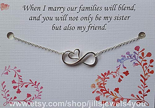 Sister in Law Gift Wedding Gift Necklace