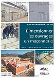 Dimensionner les ouvrages en maçonnerie : Guide d'application de l'Eurocode 6
