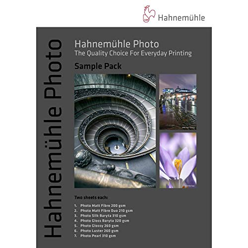 Photograph Fine Art Photo - Hahnemuhle Fine Art Inkjet Paper Sample Pack, 8.5x11