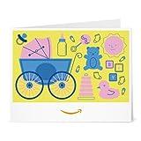 Amazon Gift Card - Print - Baby Icons Yellow