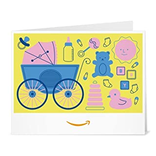 Amazon Gift Card - Print - Baby Icons Yellow (B01LXZHRN2) | Amazon price tracker / tracking, Amazon price history charts, Amazon price watches, Amazon price drop alerts