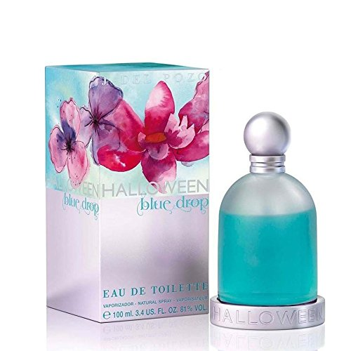 ff290eada Amazon.com : J. Del Pozo Halloween Blue Drop Eau de Toilette Spray for  Women, 3.4 Ounce : Halloween Blue Drop Perfume : Beauty