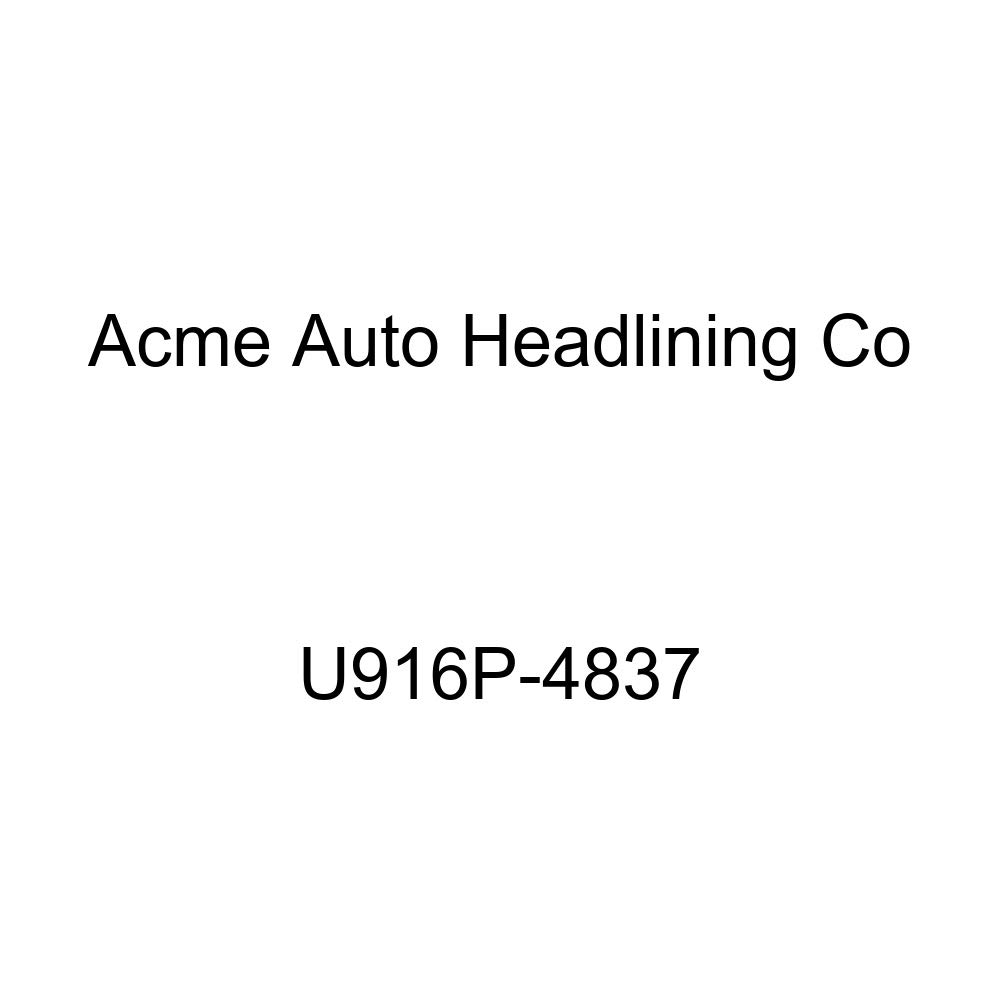 Acme U916P-4837 Front and Rear Medium Blue Vinyl Bench Seat Upholstery