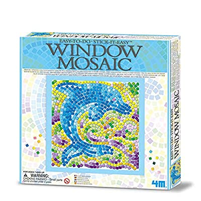 4M Make a Mosaic Window Decoration - Window Mosaic Nature Series: Toys & Games