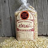 amish popcorn hulless - (3) 2 lbs Bags Medium White Gourmet Hulless Amish Country Popcorn - 6 Pounds Total