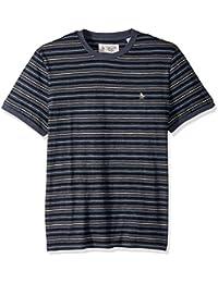 Men's Short Sleeve Heathered Slub Tee