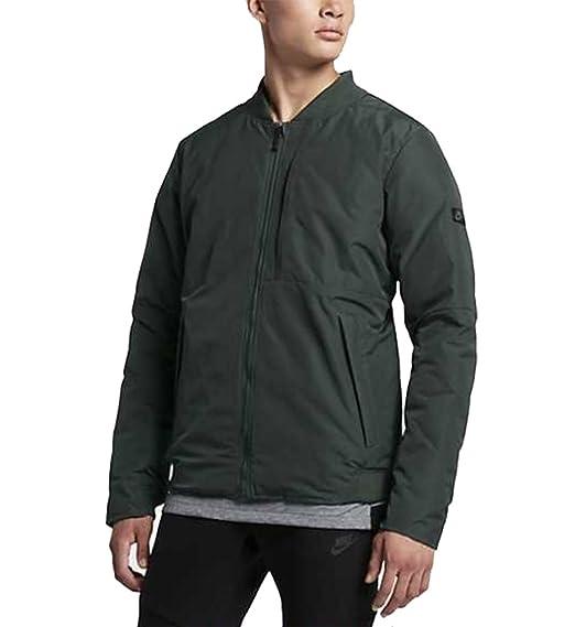 wholesale dealer a3f5f c18a7 Nike Men s Reversible Modern Down Fill Jacket 806831 (Seaweed Hasta, Large)