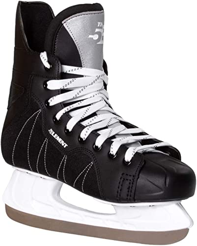 5th Element Stealth Ice Hockey Skates – Perfect for Recreational Ice Skating and Hockey Moisture-Resistant Liner True-to-Size Fit