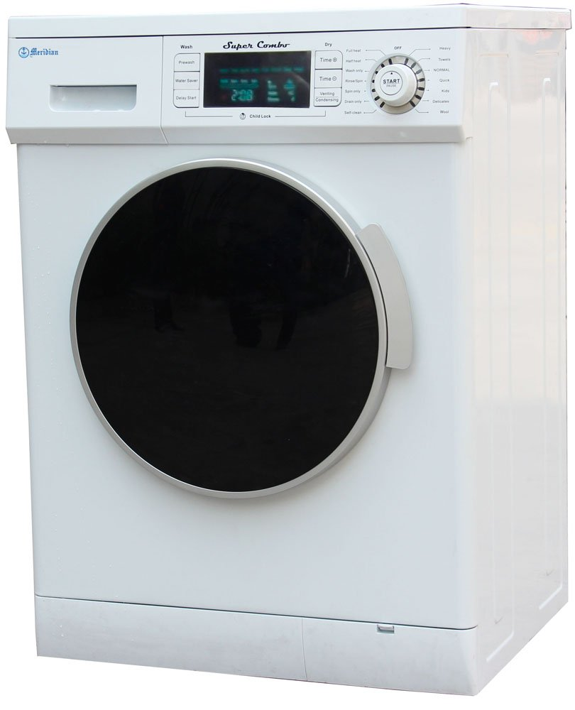 Lg all in one washer and dryer reviews - Amazon Com Meridian Convertible Venting Ventless Combo Washer Dryer Md 4000 White Appliances