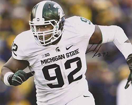 (Joel Heath Michigan State Spartans NCAA 8x10'' Autograph Photo - White)