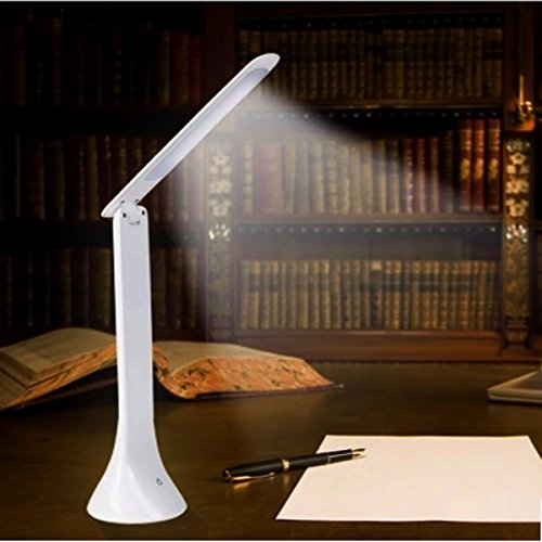 (YPINGLI Adjustable USB Rechargeable Touch Sensor LED Desk Table Lamp Reading Light LED Lights)