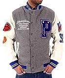 Product review for Phat Farm Men's Bomber Baseball Varsity Jacket