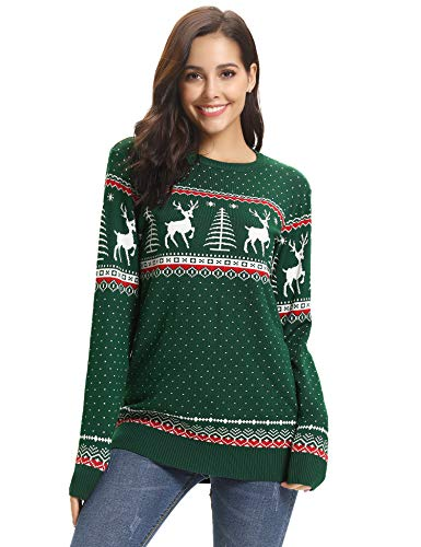 Abollria-Women-Jumpers-Christmas-Reindeer-Long-Sleeve-Chunky-Knitted-Ribbed-Sweater-Jumpers-Knitwear-Top